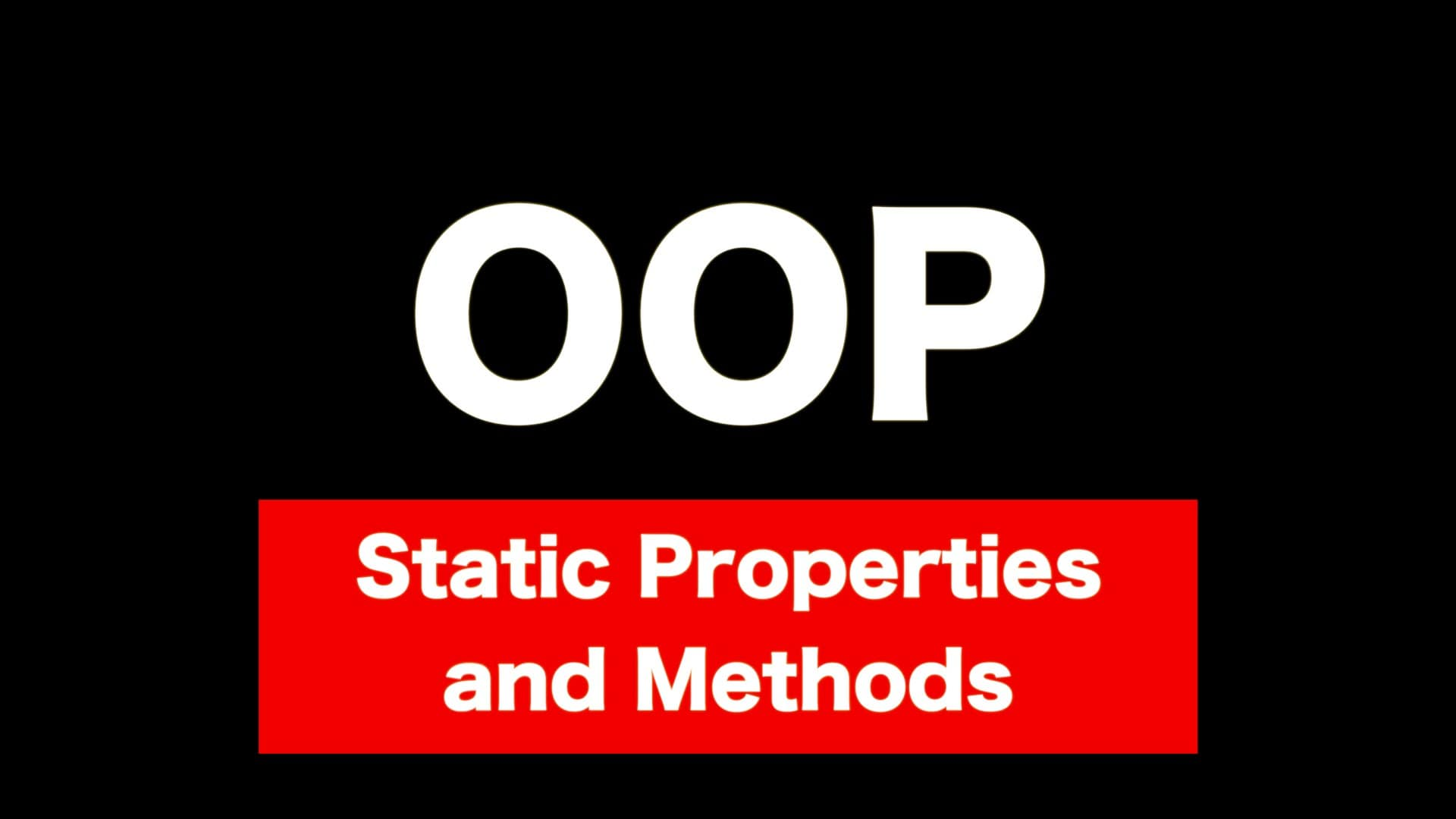 Static Methods and Properties in PHP with Example