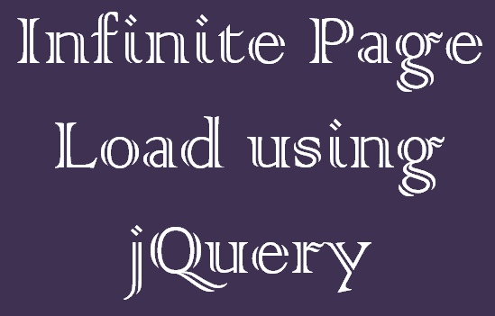 Auto Load More Data on Page Scroll with jQuery and PHP Laravel