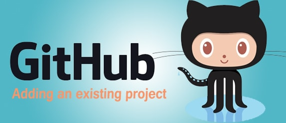 Adding an existing project to GitHub using the command line