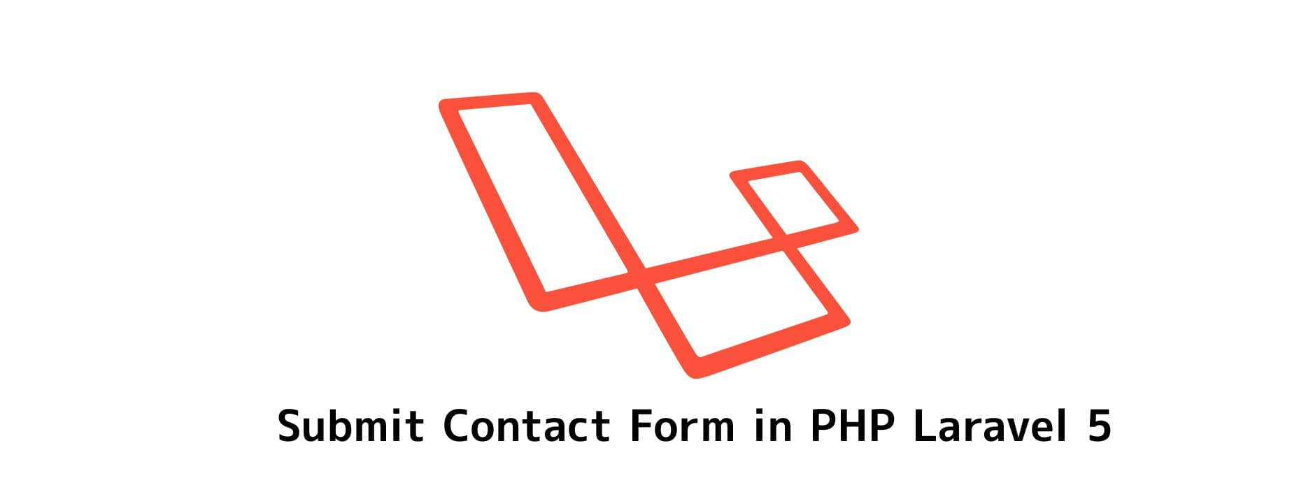 submit contact form in php laravel 5 with toastr notifications jquery
